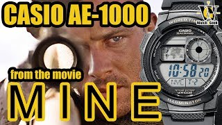 Casio AE 1000 from the movie Mine - a review and tutorial (works for Casio Casino Royale as well)