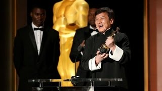 Jackie Chan Oscar Academy Award Winner 2016