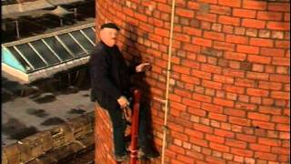 Fred Dibnah Laddering A Chimney (Part 2)