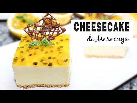 Cheesecake de Maracuyá - Fácil de Preparar / Cositaz Ricaz