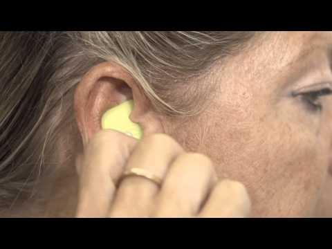How to fit a NoiseBreaker Ear Plug