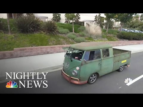 Classic Cars Become Electric Vehicles At This California Garage | NBC Nightly News
