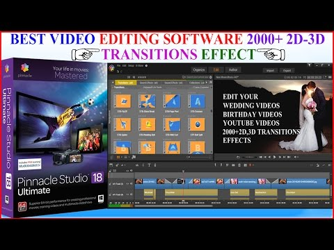PINNACLE STUDIO | Best video editing Software 2000+ 2D & 3D effect