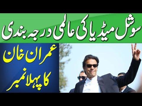 عمران خان: سوشل میڈیا پر سب سے مشہور شخصیت