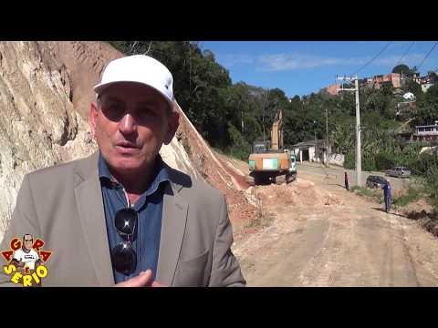 Prefeito Ayres Scorsatto fala sobre a Pavimentação da Rua Justinos Mendes de Oliveira na Favela do Justinos