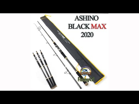 Cần câu Ashino BLACK MAX - mẫu mới 2020 - Cấn hở khỏe mạnh - Carbon 2 da
