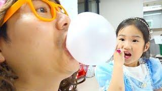 보람이의 시크릿아트 장난감 립스틱 사탕 만들기 놀이 Boram Lip Stick Candy Make-up Challenge