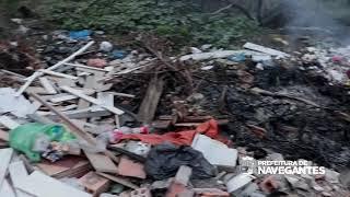 Bairro São Paulo sofre com descarte irregular de lixo novamente