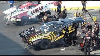 NHRA TOP FUEL FUNNY CAR LUCAS OIL TEAM Drag Racing