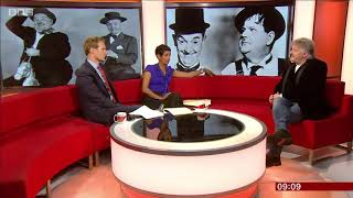 Laurel & Hardy on BBC Breakfast This Morning