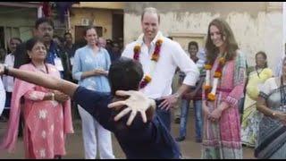 Duchess Kate, Prince William Kick Off India Tour