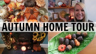 AUTUMN/FALL UK HOME TOUR & COME DECORATE WITH ME!