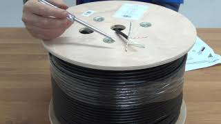 Outdoor Gel Filled CAT6 UTP Network Cable (305m, Pure Copper)