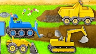 Autos kinderfilme deutsch. Kinderlied über Traktor. Auto deutsch. Kleiner Roter Traktor. Bagger.