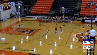 September 6, 2018 Tahlequah Tiger Volleyball vs. Berryhill Chiefs