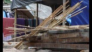 Warga Korban Gempa Lombok Mulai Bangun Kembali Rumahnya