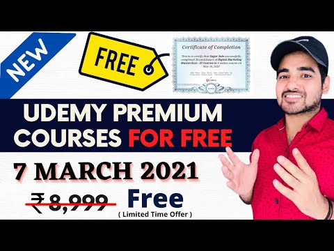 Udemy Free Courses With Free Certificate   Free Mba Course ...