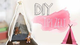 DIY Weihnachts Geschenk | Tipi Zelt für Baby/Kleinkinder #mehrselbermachen | DIANA DIAMANTA