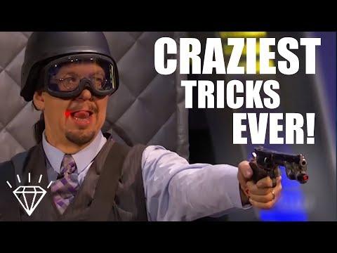 Top 10 Craziest Magic Tricks Ever Performed!