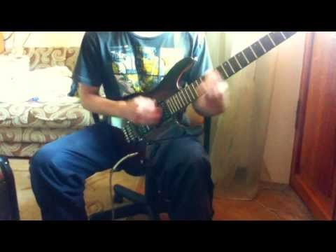 Manowar - Hand of Doom (cover) with solo