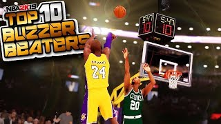 NBA 2K19 Top 10 BUZZER Beaters & Clutch Comeback Plays Of The Week #9
