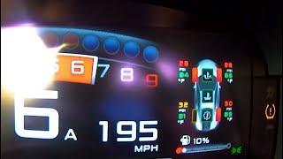 0-196 MPH McLaren 600LT - Low Tire Pressure Warning Light!