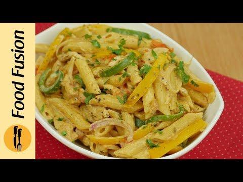 Chicken Fajita Pasta Recipe By Food Fusion