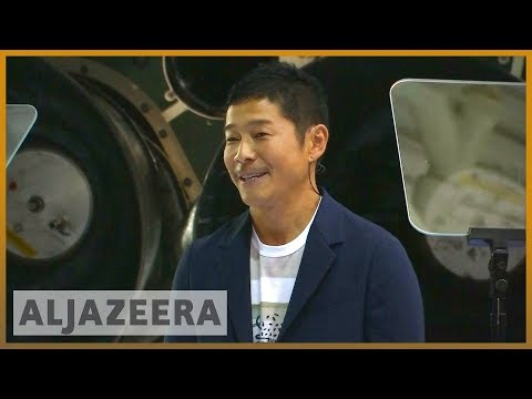 🚀 Meet Yusaku Maezawa, first SpaceX moon tourist | Al Jazeera English