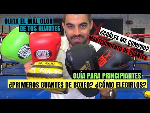 Cómo Elegir Guantes de Boxeo ¿Cuáles me compro?   Quita el mal olor de tus guantes