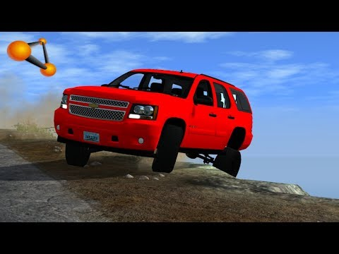 BeamNG.drive - High Speed Off-road Crashes & Fails #2