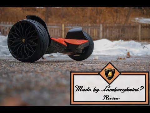 A REAL LAMBORGHINI HOVERBOARD? – Review
