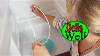Kühlschrank reinigen inklusive den Ablauf reinigen