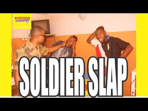 SOLDIER SLAP (HILARIOUS COMEDY TV) EPISODE 12