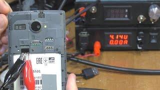 ЭЛЕМЕНТАРНОЕ. Не включается / Не заряжается смартфон Fly FS501