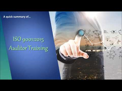 ISO 9001 Internal Auditor Course - Online Training - YouTube