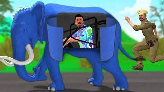 जादुई हाथी खिलौना Magical Elephant Toy Funny Comedy Video हिंदी कहानिय Hindi Kahaniya Comedy Video