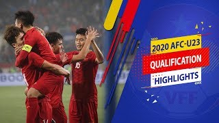 Hủy diệt U23 Thái Lan, U23 Việt Nam hiên ngang tiến vào VCK U23 châu Á 2020 | VFF Channel