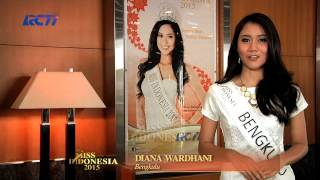 Diana Kusuma Wardhani for Miss Indonesia 2015