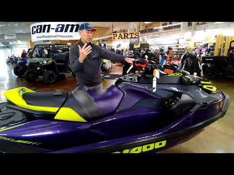 2021 Sea-Doo RXT-X 300 iBR in Louisville, Tennessee - Video 1