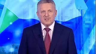 Поздравление Губернатора края В.И. Шпорта с Новым 2018 годом