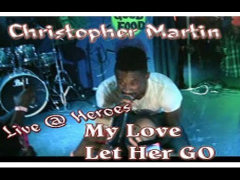 Christopher Martin Performing