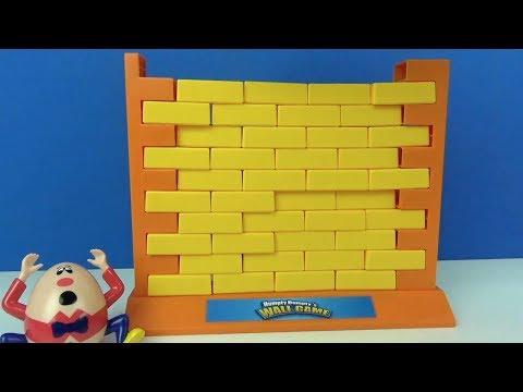 Humpty Dumpty's Mauer Spiel Geschicklichkeitsspiel Humpty Dumpty Kinderreim Spielspaß für Kinder