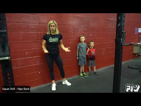 Squat Drill - Hips Back