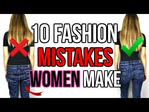 10 FASHION MISTAKES WOMEN ALWAYS MAKE | Shea Whitney