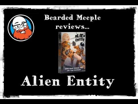 Bearded Meeple reviews : Alien Entity