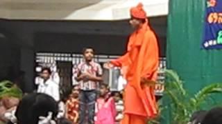 Swami Vivekananda Drama In Sajjan Rao School