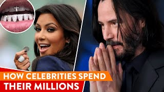 How Celebrities Spend Their Millions: Smart&Crazy Ways   ⭐