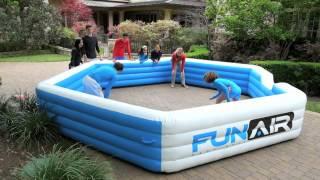 Portable and Inflatable FunAir Gaga Ball Pit Play