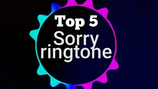 Top 5 Sorry Ringtone Justin Bieber | Remix | IPhone | Marimba | Download Mp3 Ringtones Official