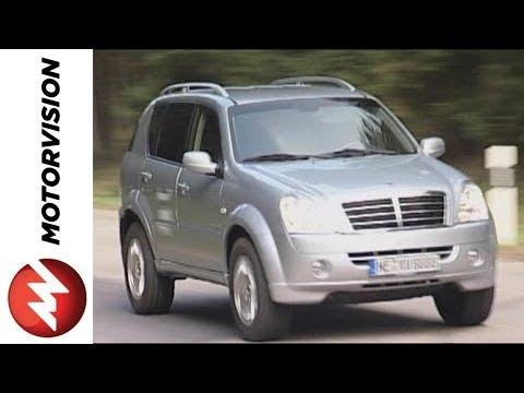 SsangYong Rexton 270 Xdi Road Test Video